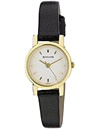 Sonata Analog White Dial Women's Watch -NJ8976YL02W
