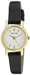 Sonata Analog White Dial Women's Watch - NH8976YL02CJ