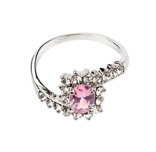 Frauen, die Verlobungsring-Kristallschmucksachen-Größe 5-10 Ringe Wedding sind YunYoud Modeschmuck Ring rtnerringe Gold Grosse fingerringe günstige Ringe (Günstige Verlobungsringe 8 Größe)