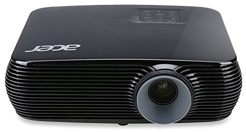 Acer P1186 Svga 3d Dlp Home Theater Projector, Black (2016 Model)