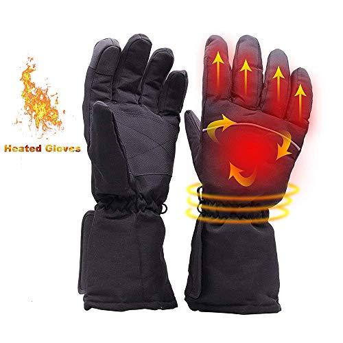 Covok guanti riscaldati litio impermeabili-guanti riscaldati warme-guanti riscaldati usb-guanti riscaldati per sci,scooter,ciclismo,moto,lavoro,pesca-guanti riscaldati per uomini/donne