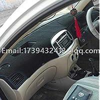 Zoomy Far: Negro Tener Caja: Coche salpicadero Accesorios de Estilo salpicadero Cubierta para Hyundai