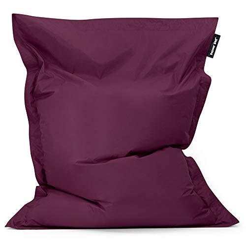 Bean Bag Bazaar Bazaar Bag - Morera Púrpura, 180cm x 140cm, Puf Gigante para Interiores y Exteriores – Puff Enorme, Ideal para Usar en el Hogar y el Jardín