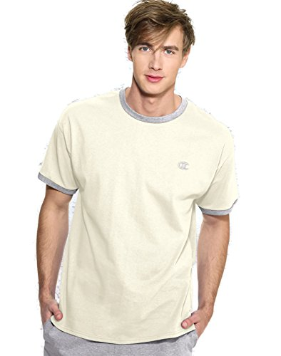 champion-t-shirt-homme-chalk-white-oxford-gray