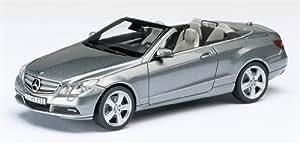 Schuco - SCHU07367 - Véhicule Miniature - Mercedes - Benz Classe E Cabriolet - Argent - Echelle 1 / 43