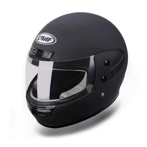forbidvt Casco Modulare Moto Nero Opaco Doppia Visiera Scooter Motorino · Casco Moto Donna e Uomo