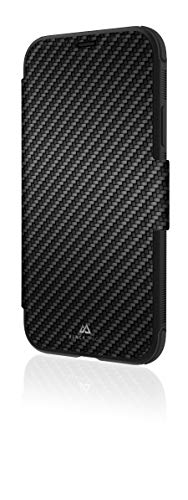 Black Rock Flex Carbon Robust Wallet Hülle für Apple iPhone X/XS