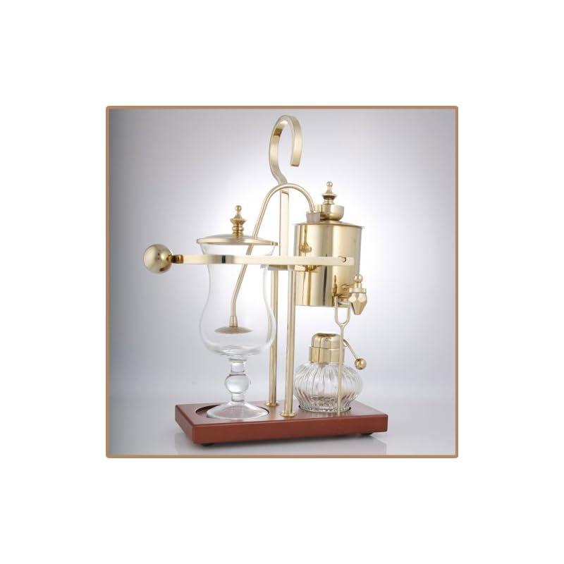 Royal Vienna Balance Coffee Master Gold Elegant 19th Century Belgium Style Luxury Balance Syphon Coffee Machine / Maker…