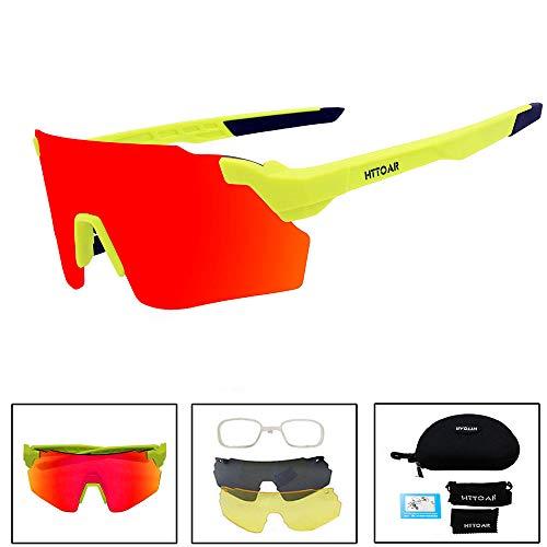 HTTOAR Gafas Sol Deportivas Aire Libre protección