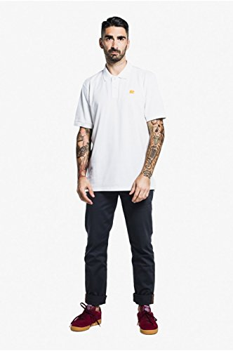 TRENDSPLANT Herren Poloshirt Weiß