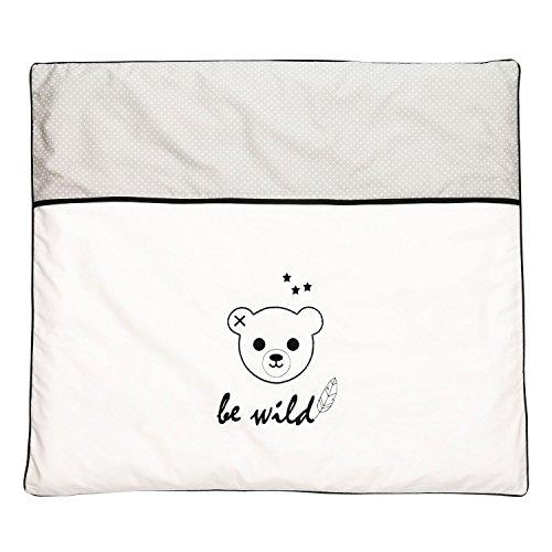 ★ BE-WILD.: Bezug für Wickelunterlage, für kleine Indianer