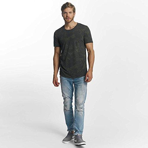 JACK & JONES Herren Oberteile/T-Shirt jorBranch Grün