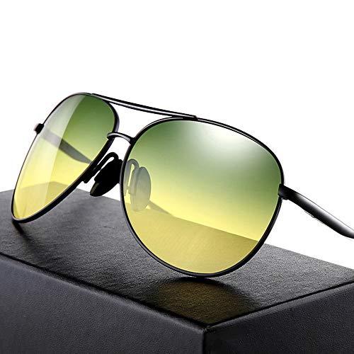 GXM-FR Polarisierte Sonnenbrillen, Herren- und Damen-Nachtsichtbrillen mit Blu-Ray UV400, Tag- und Nachtfahrten, Angeln, Outdoor-Sportbrillen,B
