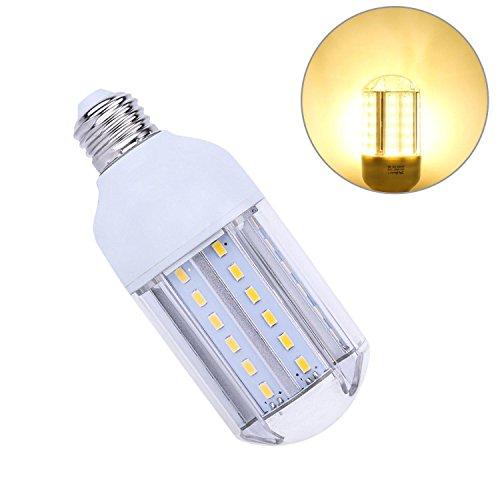E27 15W LED Mais Birne Beleuchtung, Warmweiß 3000K Energiesparlampe Leuchtmittel Maiskolben Ersatz 100W Glühlampe für Küche, Schlafzimmer, Hängendes Licht, Ankleidezimmer, Bad, Wohnzimmer, Schlafzimmer, Esszimmer Bad-wärme-lampen