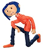 """NECA Coraline in Striped Shirt And Jeans Articulated 7"""" Scale Action Figure"""
