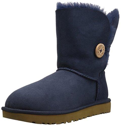 UGG Women's Bailey Button II Winter Boot, Navy,4.5 UK,37 EU