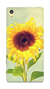 Amez designer printed 3d premium high quality back case cover for Sony Xperia Z5 Plus (Beautiful Sunflower Macro)