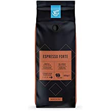 "Amazon-Marke: Happy Belly Röstkaffee, ganze Bohnen""Espresso Forte"" (2 x 500g)"