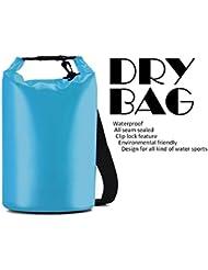 Rabbitstorm® Sacs secs étanches Dry Bag Sac sec Poche de Compression Léger pour camping, kayak, canoë-kayak, randonnée pédestre