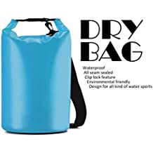 Rabbitstorm® Bolsas secas impermeables Dry Bag bolsa seco bolsa de compresión ligero para Camping, kayak, piragüismo, senderismo