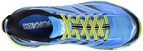 Hoka One Herren Mafate Speed 2 Traillaufschuhe Blau (Cyan/acid)