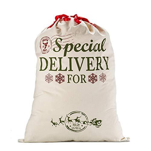 Skyocean Navidad Regalo Bolsas Santa Sacos Personalizadas