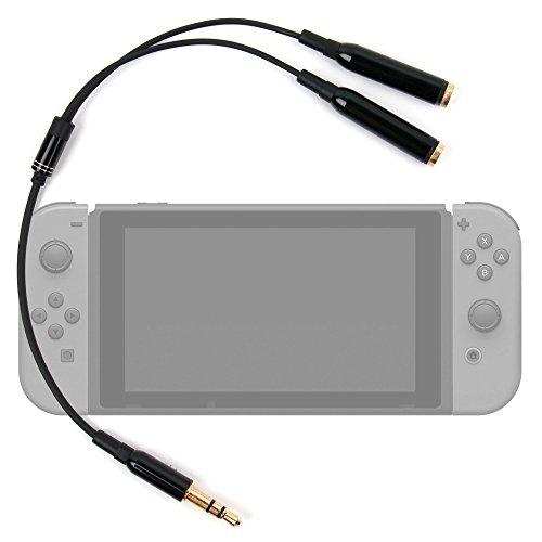 'Adapter Audio Doppel-Konsole für Spiele Nintendo Switch Display 6,2-DuraGadget -