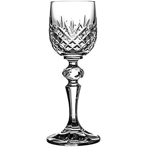 Crystal Julia 2926 de copas de licor de vasos de cristal de plomo, 6 pcs lleno, 60 ml