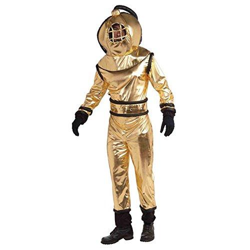Kostüm Erwachsene Für Taucher - Unterwasser-Geräuschminderung Kostüm Diver, Einheitsgröße