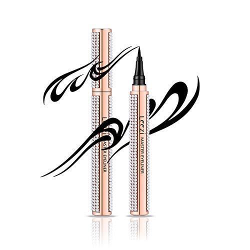 Diamond eyeliner Eyeliner Pen Waterproof Black Precision Micro Eye Liner Penna liquida Asciugatura rapida Long Lasting Trucco cosmetico Matita per le donne Ragazze Occhi