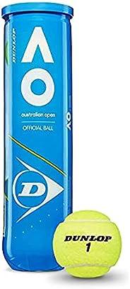 Dunlop Australian Open Palla da tennis gelb Taglia unica, giallo