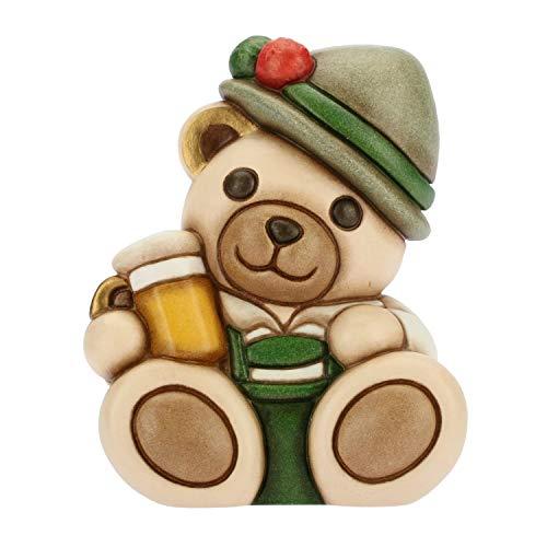 THUN - Teddy On The Road Monaco Piccolo - Animali Soprammobili da Collezione - Ceramica - I Classici