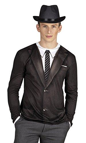 Fancy Ole - Herren Männer Kostüm Shirt / Hemd Vintage Boy, Mehrfarbig, Größe (Vintage Kostüme Zirkus Männer Für)