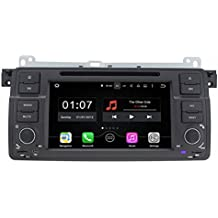 TOPNAVI 7inch 1024*600 Android 5.1.1 Car DVD Player for BMW 3 Series E46 1998-2006 E46 BMW M3 (1998-2006) Auto GPS navigation Wifi Bluetooth Radio 1.6 GB CPU Rockchip RK3188 Cortex A9 DDR3 Capacitive Touch Screen 3G car stereo audio Phonebook RDS AUX DVR Mirror Link 16GB Quad Core