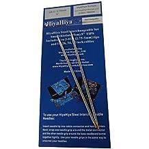 HiyaHiya 12,7 cm x 2,75 mm puntas de acero inoxidable