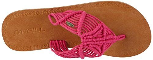 O'Neill Damen Fw Crochet Sandal Riemchensandalen Pink (Beetroot Purple)