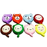 YeahiBaby Cartoon Plush Tape Measure Body Measuring Retractable for Sewing Tailor Cloth Ruler