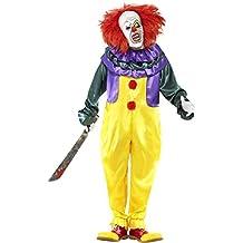Smiffy's - Costume per travestimento da Clown Horror, Adulti, XL