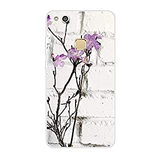Aksuo for Huawei P10 Lite Slim Shockproof Case, Exquisite Pattern Design Clear Bumper TPU Soft Flexible Rubber Silicone Skin Back Cover - Q-Huawei P10 Lite-55