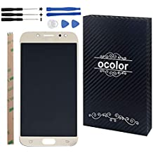 Ocolor di riparazione e sostituzione per Samsung Galaxy J5 (2017) J530 SM-J530F LCD Display + Touch Screen Digitizer con Utensili Inclusi (d'oro)
