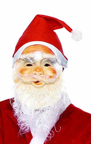 Rubie's Rubie s it00045–Weihnachtsmann Maske, Luxus, Erwachsene, Einheitsgröße
