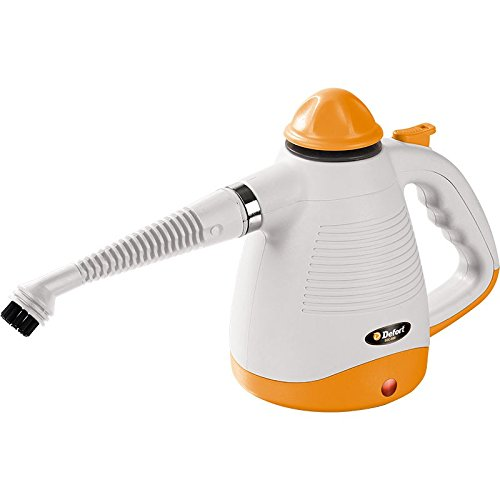 DEFORT DSC-800 - VAPORETA (PORTATIL  0 45L  NARANJA  COLOR BLANCO  1000W  230V  50 HZ)