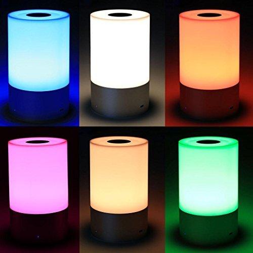 Beautytalk LED Tischleuchte | Tischlampen Tischleuchte LED | Nachttisch-Leuchte für Schlafzimmer Weihnachten Geschenke DE Lager (Nachttisch Lager)