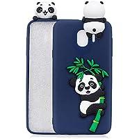Everainy Samsung Galaxy J4 2018 Silikon Hülle Ultra Slim 3D Panda Muster Ultradünn Hüllen Handyhülle Gummi Case... preisvergleich bei billige-tabletten.eu