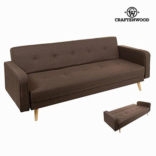 Sofá cama sixty marrón by Craftenwood