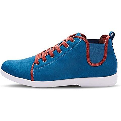 LYF KIU Scarpe uomo cinturino/ scarpe casual high-top/Semplici scarpe da ginnastica marea/ scarpe da skateboard casuali