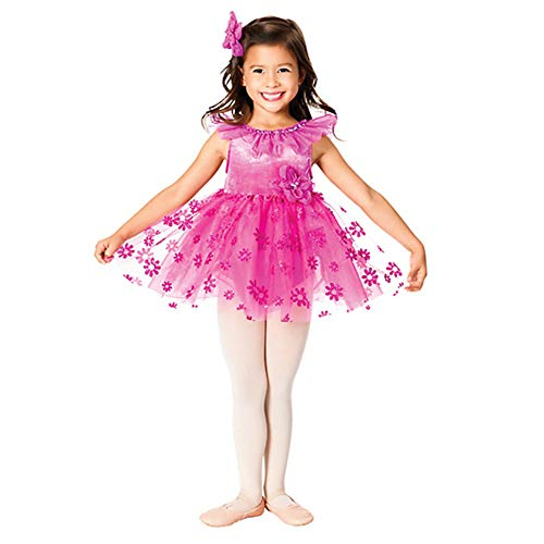 Dance Kostüm Cute Kid - JIE. Tutu-Girl Ballett Dance Dress Kostüm Rock Tutu Cute Princess Dress Stage Performance Kostüm, Rose Red,SC