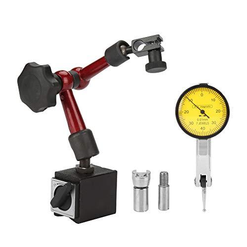 Flexibles starkes magnetisches Messgerät Standfuß Halter + Hebel Messuhr Messgerät zur Oberflächenmessung (Messuhr Magnet)