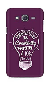Amez Innovation is Creativity with a Job to do Back Cover For Samsung Galaxy J5