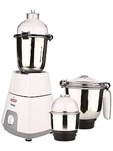Kanchan Torque White Mixer Grinder 3 Jars 750W